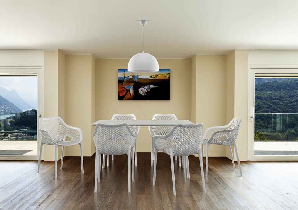 Cabin living gartenstuhl air xl weiß designwohnen.de
